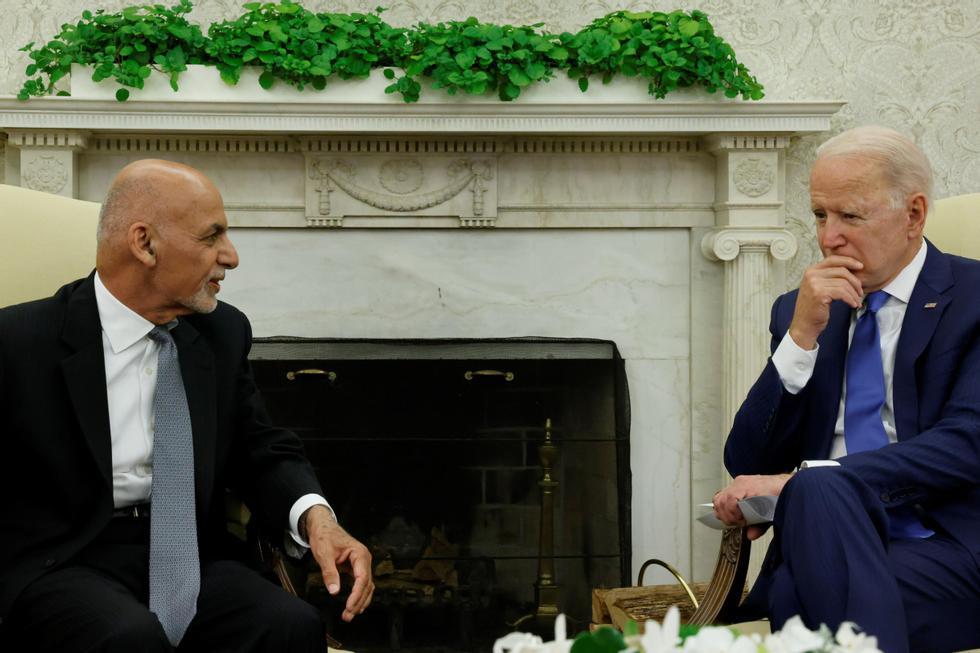 Disclosure: Joe Biden accepts the post of ex-Afghanistan president