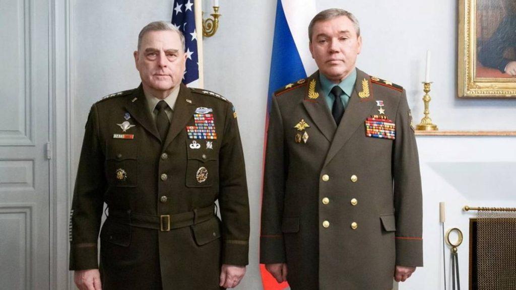 Milley og Gerasimov