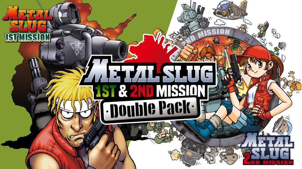 SNK announces first and second Metal Slug bundle, plus a batch of 10 NGP games for Switch