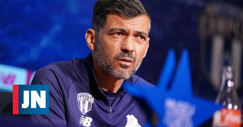 Sérgio Conceição handles a fan fall at Alvalade and ignores the competitions