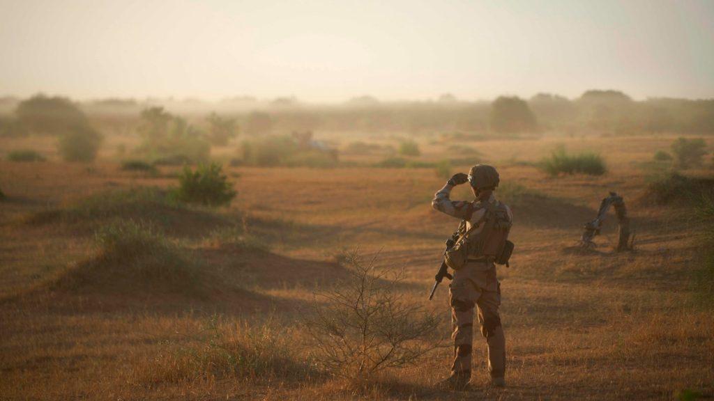 Soldat i Mali