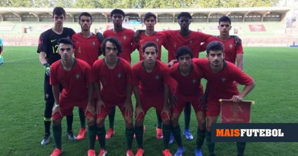 Under 18: Portugal beat France with a comeback in Limoges