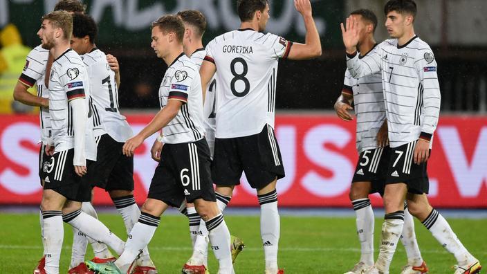Auteur du but vainqueur lors de la dernière finale de Ligue des champions, avec Chelsea, Kai Havertz a ouvert le score ce lundi.