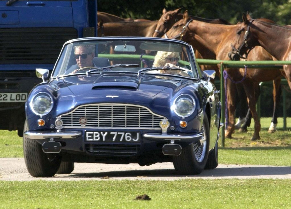 Prince Charles' car powered by cheese and wine - VG