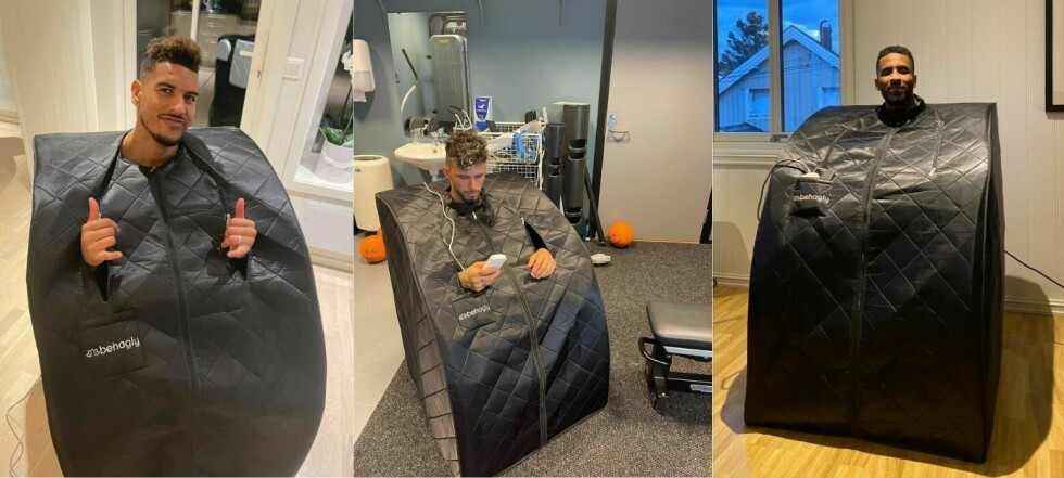 This is why Norwegian football profiles use infrared saunas