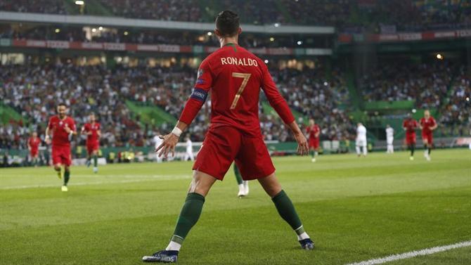 A BOLA - Ronaldo has already scored in 46 different countries (Selecção)