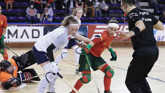 A BOLA - Women's team crushes France in the European Championships (roller hockey)
